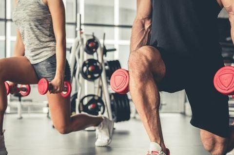 别让箭步蹲成为你的膝盖杀手,掌握4个技巧,准确刺激臀腿肌肉