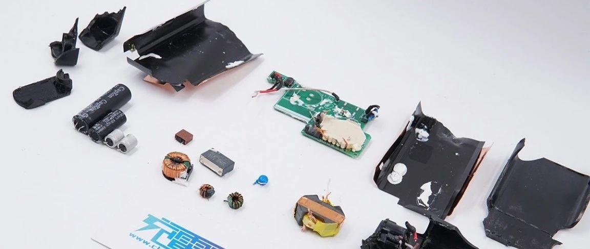 拆解报告:HP惠普笔记本电脑65W PD快充充电器