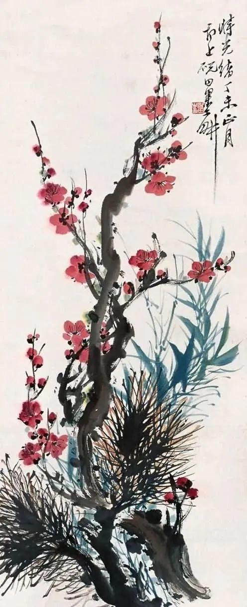 著名的江南画家,才华横溢风光无限,是海上画派代表性人物