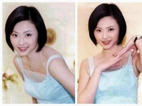 44岁萧淑慎与小15岁老公合影,身材圆润衣着宽松?