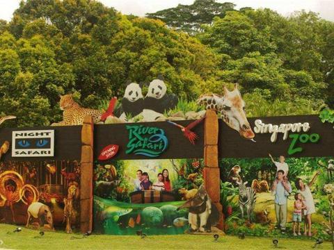 """亚洲的一处""""开放""""动物园,不用笼子圈禁动物,而选择放养模式"""
