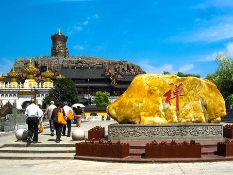 上海最有气派的一座寺庙东林寺,拥有三项大世界吉尼斯纪录