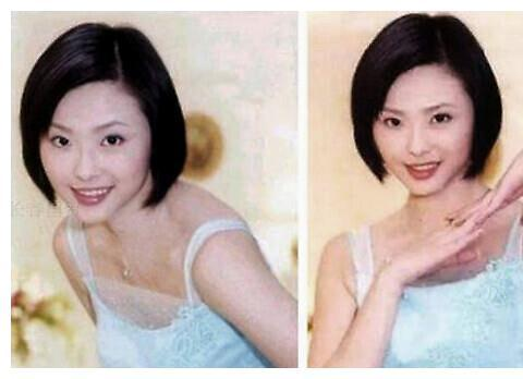 44岁萧淑慎与小15岁老公合影,身材圆润衣着宽松,疑似造人成功