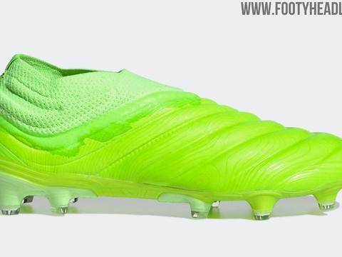 阿迪达斯新配色Copa 20足球鞋产品图曝光