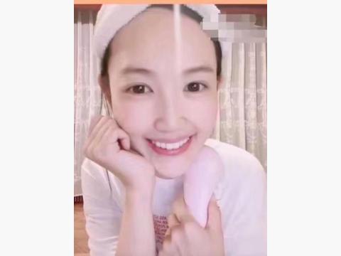 王宝强前妻马蓉晒照,带货千元护肤仪,皮肤状态比明星还好