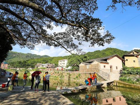 青山绿水、田园风光的潮州永善村, 客家土楼600年屹立不倒