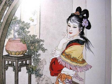 杨贵妃唯一的一首作品,收录《全唐诗》,句句唯美使人动容