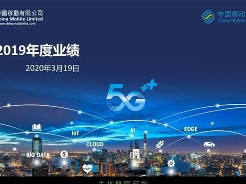 提速降费有效促进运营商高质量发展,中国移动2019业绩报告亮眼