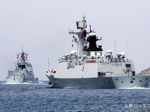 """""""福建舰队"""":含2艘驱逐舰、3艘护卫舰,还有3艘坦克登陆舰"""