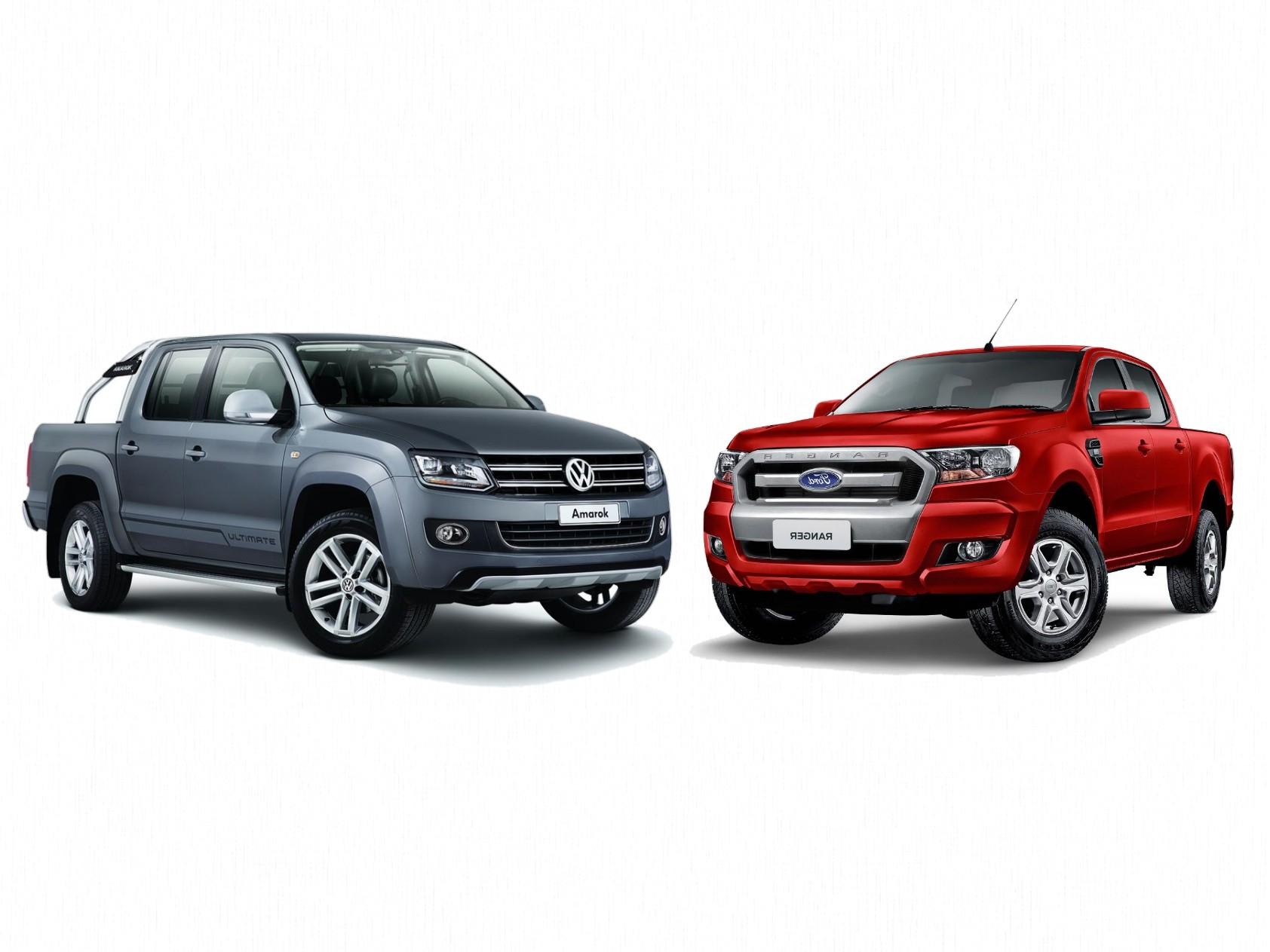 大众全新皮卡用福特技术,第二代Amarok和Ranger同平台
