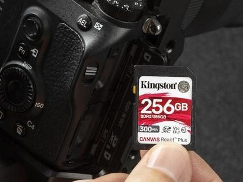 支持8K视频的金士顿Canvas Plus系列存储卡