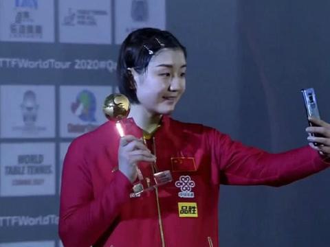 3连胜打爆日本伊藤美诚,陈梦剑指奥运冠军 世界第一让对手很郁闷