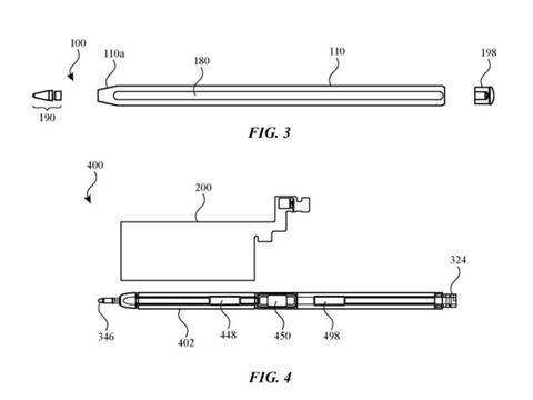 Apple Pencil或将采用玻璃材质?苹果新专利曝光