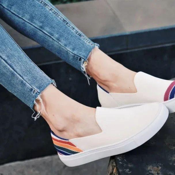 INS达人都爱穿的懒人鞋!轻奢百搭超吸睛,舒服透气到穿上就不想脱下来!