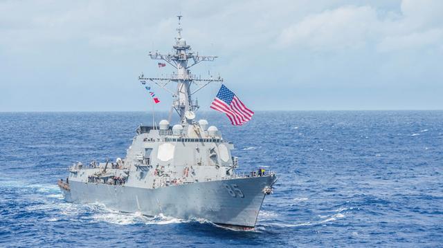 """美舰若再敢闯中国""""禁区"""",美国人:中国或会考虑用电磁武器攻击"""