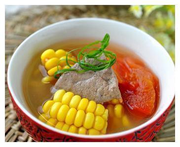美食推荐:玉米番茄猪肝汤、沙茶鸡、小炒刀豆丝、粉蒸排骨