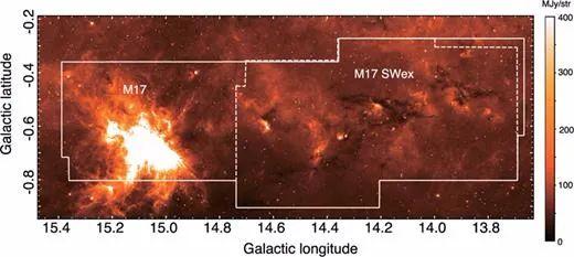 """日本45米射电望远镜,捕捉到三个""""星际气体云""""最新的详细地图!"""
