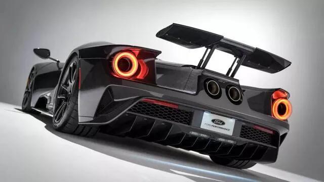 最大660马力!搭3.5T+V6双涡轮发动机!福特GT液态碳纤维版发布
