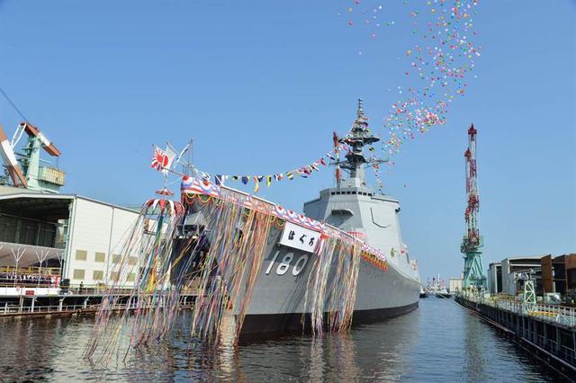 055准备好了吗?日本版超级战舰正式授旗,网友:野心不得不防