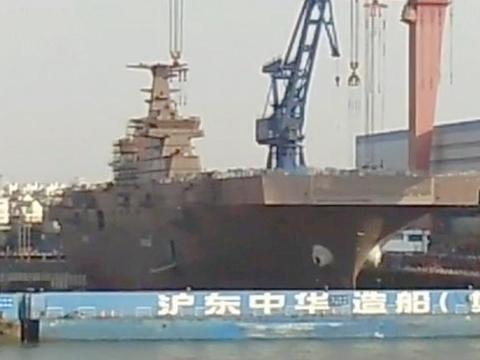 中国4年造舰总吨位相当于整个日海自!外国人:现在的中国惹不起