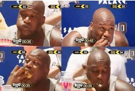 NBA大胃王!字母弟一顿吃9桶泡面 奥尼尔36根热狗不够塞牙