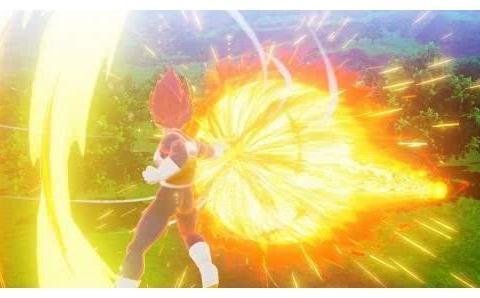 《龙珠Z:卡卡罗特》DLC截图,超赛神悟空、贝吉塔亮相