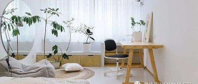 40平老破旧房子,改造原木风,白墙白地板让老房亮一倍!