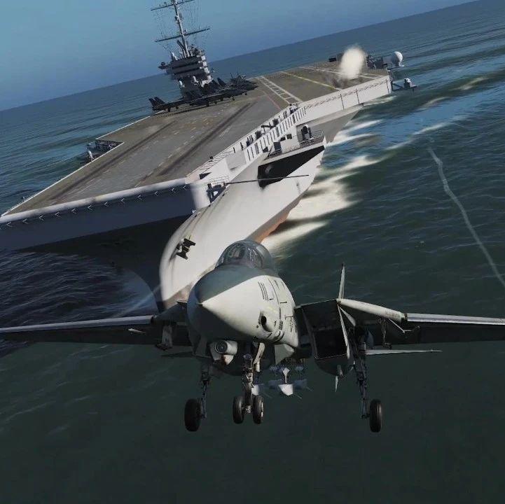 战争模拟 | 《碧血长天》经典重现,F14雄猫迎战零式,天空再度出现打火鸡!