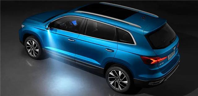 合资中型SUV才10万块!全系标配LED大灯,全景天窗,值!