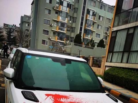 大连这个小区一夜之间十多辆车被泼红漆!都是好车