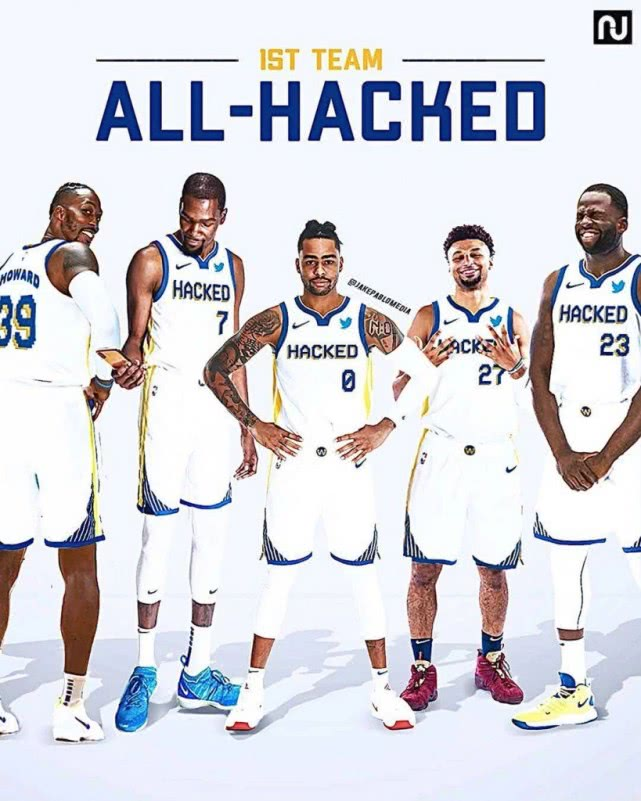 够另类!美媒评出NBA账号被黑最佳阵容:穆雷杜兰特魔兽上榜