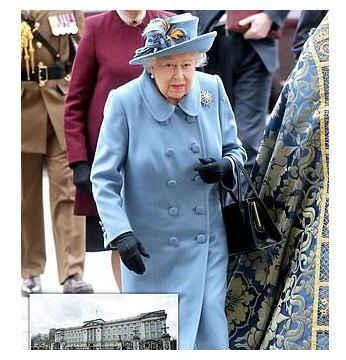 疫情严峻!英女王撤离白金汉宫 搬至温莎城堡居住