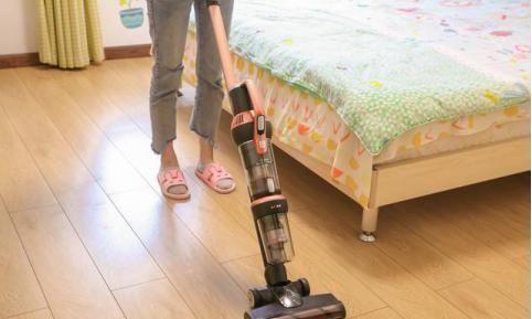 莱克立式无线吸尘器除尘更轻松,家务清洁这道题你可以会