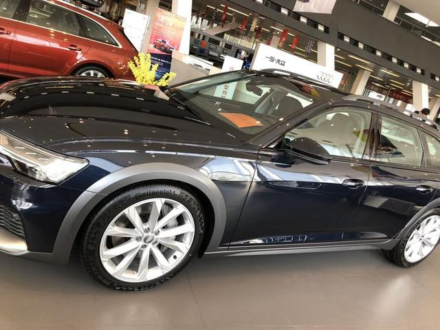 奥迪全新A6 Allroad到店实拍 配备quattro Ultra适时四驱