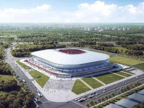 相互攀比?上港新球场还未建成,恒大专业足球场已提上日程