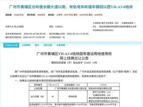 """15.47亿广州再拿医疗用地:前海人寿加码布局""""保险+医疗+养老"""""""