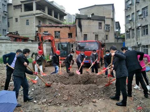 阳新高中学生公寓奠基