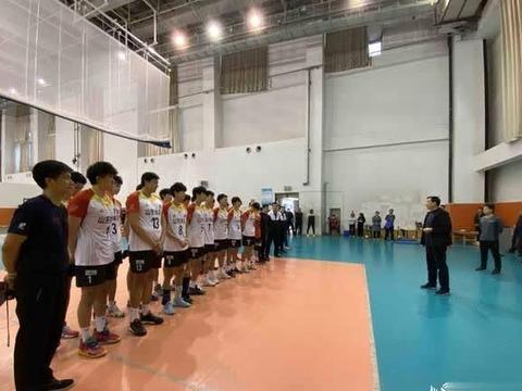 山东男排举行公开课 球队目标陕西全运会冲金