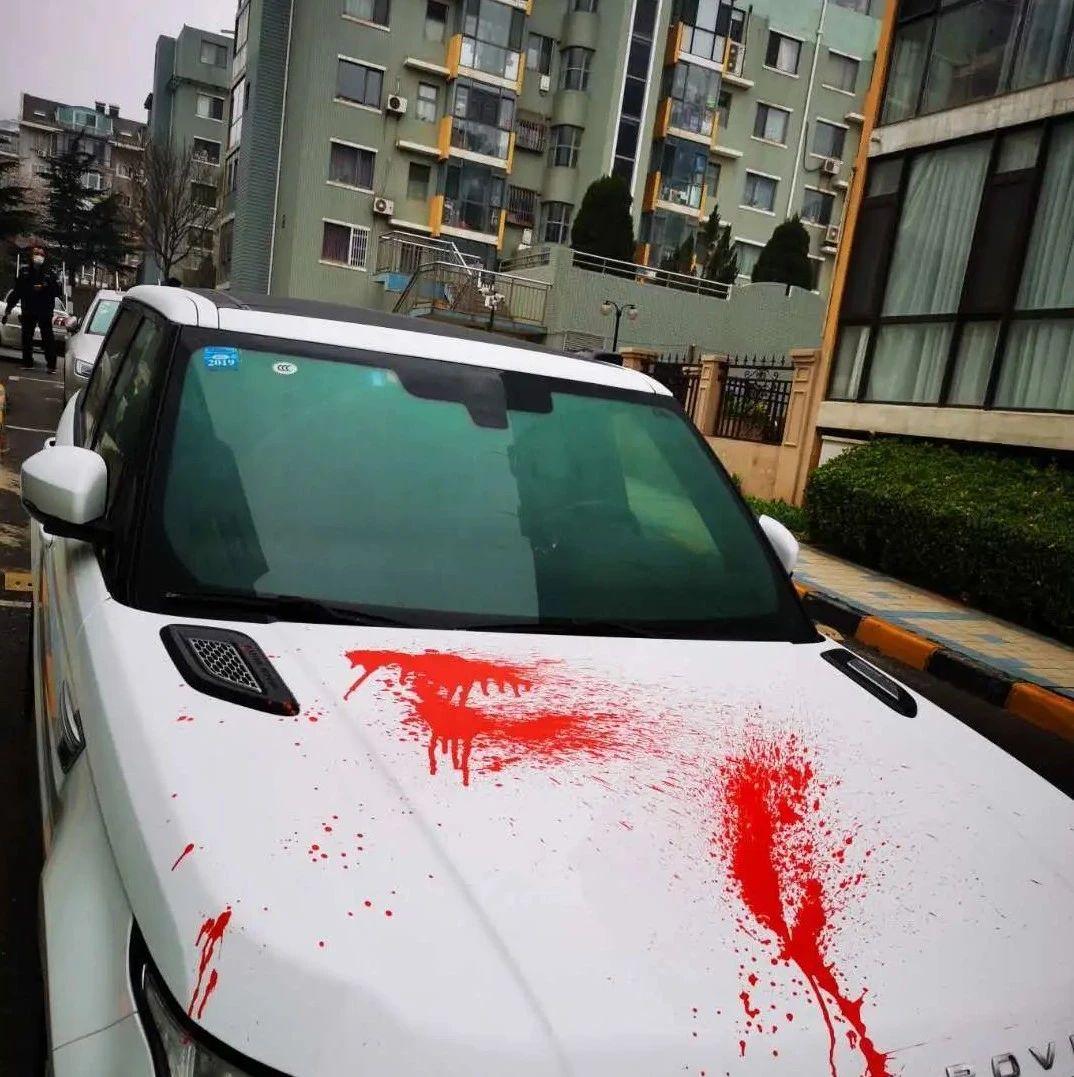 大连十多辆车被泼红漆!警方通报:嫌疑人被抓获!