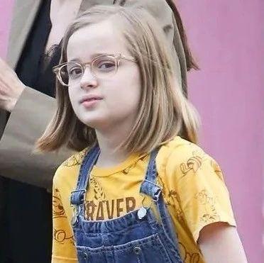 OMG | 朱莉女儿Vivienne的脸,简直就是遗传学案例