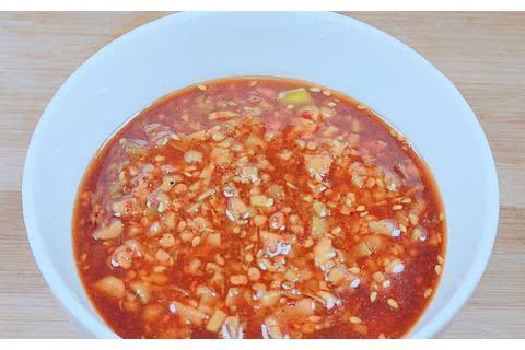 大厨教你蒜蓉酱做法,详细步骤和配方,下饭拌面超过瘾!