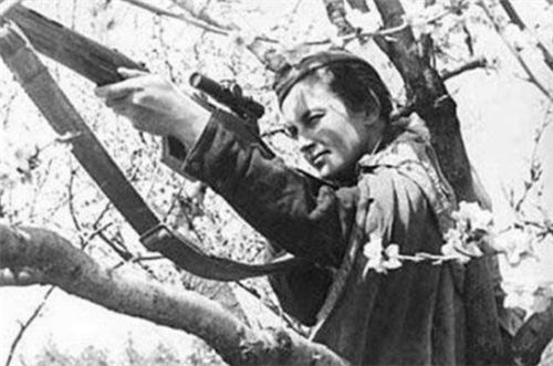 她是苏联女英雄,狙杀309名德军,如今成了游戏角色,你可能玩过