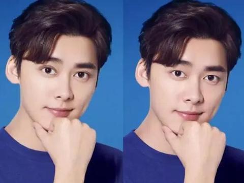 明星双眼皮前VS后,邓伦变的韩系,刘昊然变帅气,他像变了个人