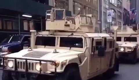 大批美军突然进入曼哈顿,美民众陷入恐慌:纽约已成克什米尔