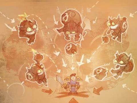 LOL克隆模式强力套路:五个诺手一起血怒!婕拉种子疯狂生长