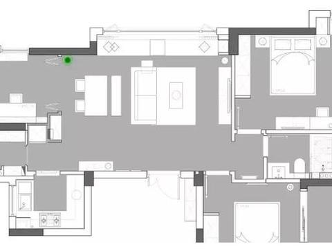刚完工的简约风新房,原木色+白色化繁为简,舒适又个性,晒晒!