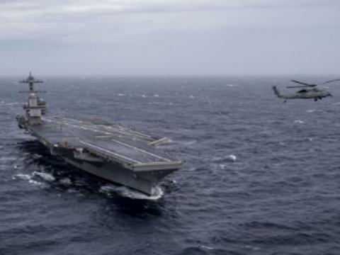 军队不允许航母靠岸,3600名军人生命遭威胁,美:最强的对手
