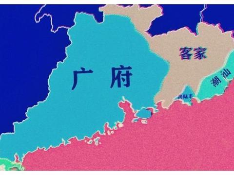 韶关,一个粤文化的城市,中心城市与县城粤语为第一语言