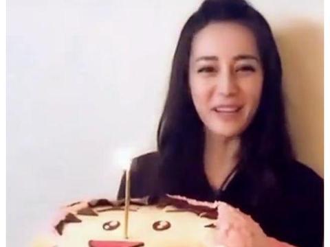 有种个性叫迪丽热巴的生日蛋糕,看到款式,我还没见过