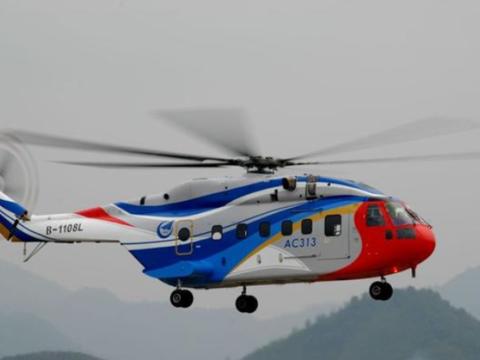 深感骄傲!中国最大的重型直升机,采用了老直8的基础结构!